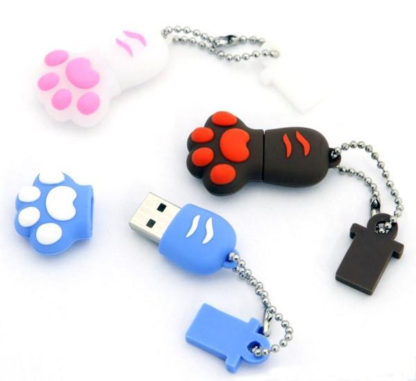 Des clefs USB rigolotes
