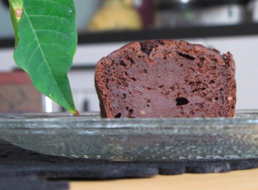 Cake-brownie chocolat-pistache sans gluten !