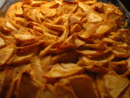 Fouillis aux pommes sans gluten style Eryn