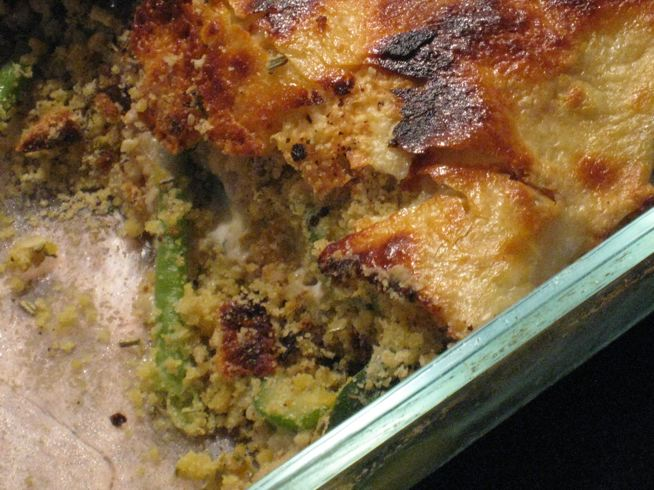 Crumble de légumes sans gluten