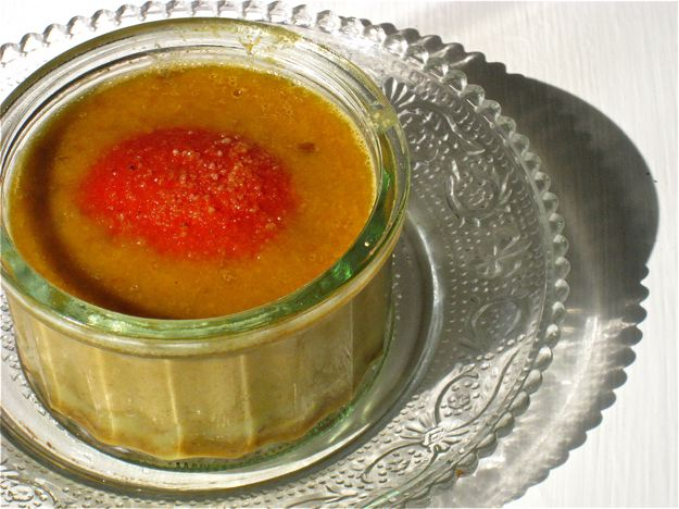 Abricots en ramequins sans gluten sans lait