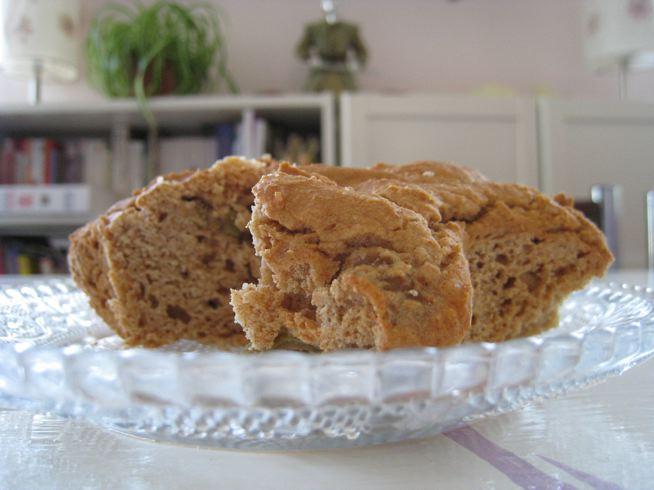 Cakes sans gluten olives et chèvre