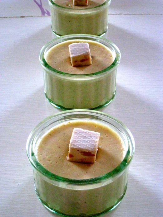 Crèmousse choco-nougat sans gluten sans lait