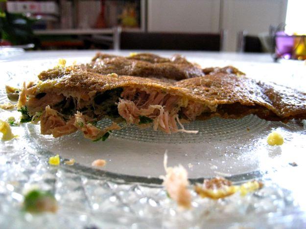 Galette de sarrasin facon brick sans gluten sans lait