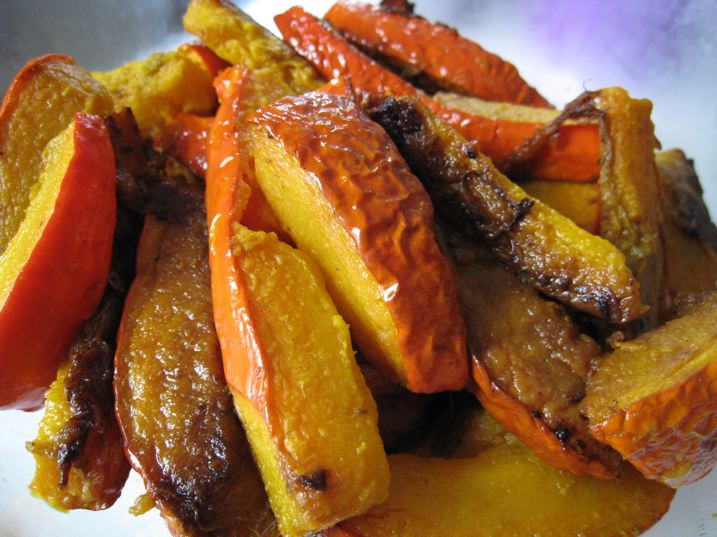 Frites de potimarron