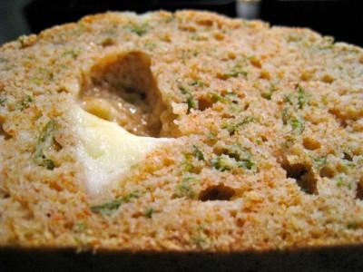 Cake au fromage de Cléa tranche