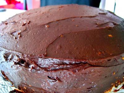 Gâteau génoise choco