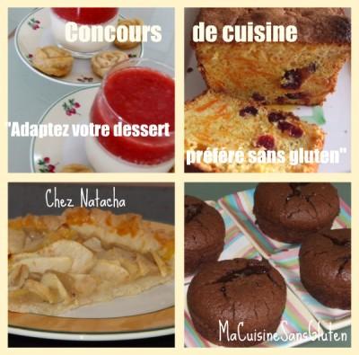 Concours cuisine sans gluten