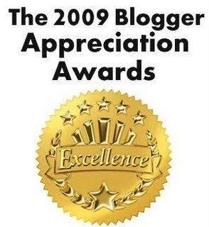 2009 Appreciation blog award