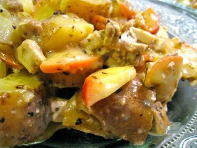 Tofu 2 pommes - zoom
