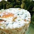 Brocolis à la brousse et au saumon