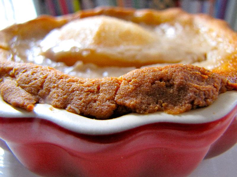 Tarte amandine aux poires sans gluten sans lait