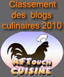 Concours AFTouch des blogs de cuisine