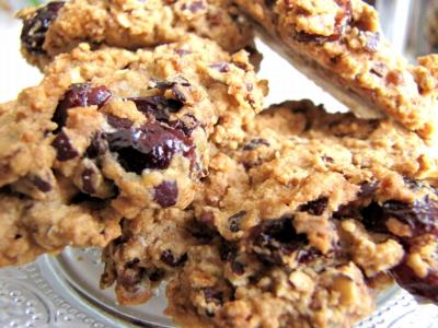 Cookies aux flocons d'azuki sans gluten ni lait