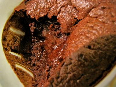 Merveilleux fondant chocolat-noisettes sans gluten sans lait