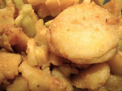 Une simple salade de pommes de terre ?