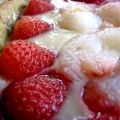 Tarte fraises litchis 2