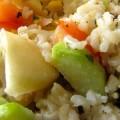 Salade composée à la truite fumée