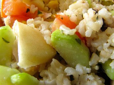 Salade composée sans gluten