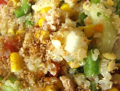 Aka tweet salade de quinoa - Schtroumpf grincheux ...