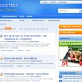 Capture site : Recettes sans gluten