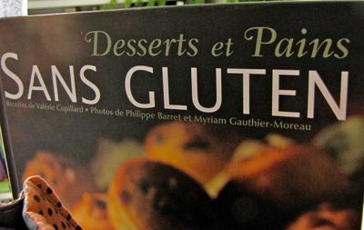 Desserts et pains sans gluten, Valérie Cupillard