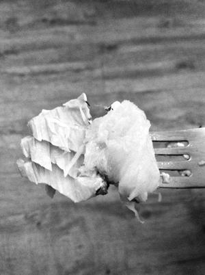 Saumon papillote ananas