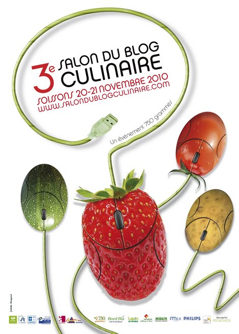 Salon du blog culinaire - Soissons - 2010