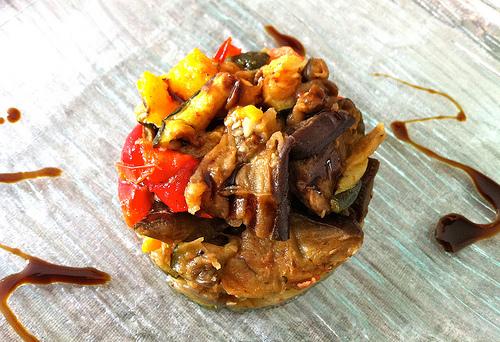 Ratatouille de légumes grillés