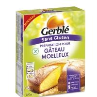 Préparation pour gâteau moelleux sans gluten Gerblé