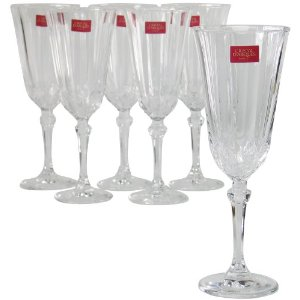 Flûtes à champagne Cristal d'Arques Allure