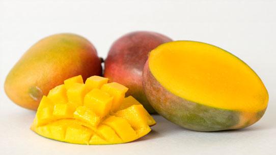 Menu de Noël sans gluten : cobbler à la mangue et aux clémentines