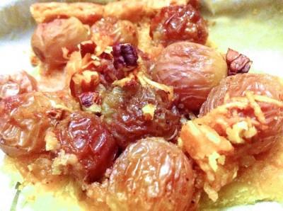Tarte aux raisins sans gluten