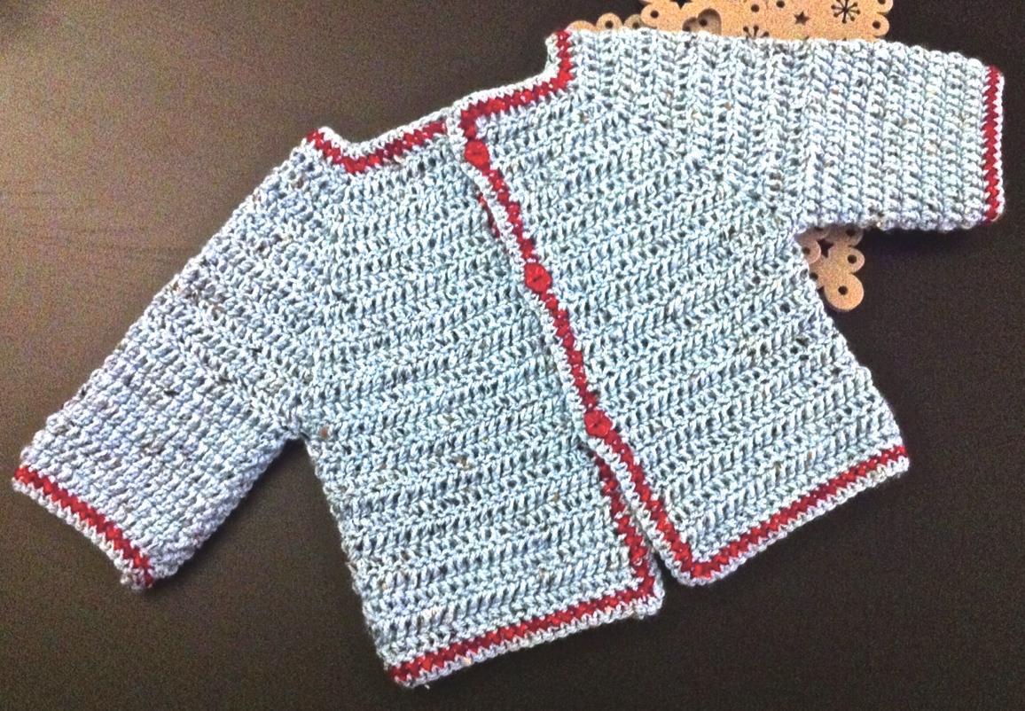 Bébé : gilets au crochet