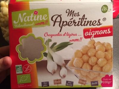 Natine Aperitines oignons