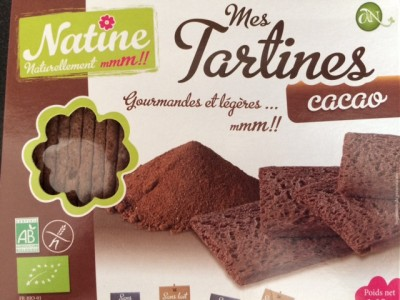 Natine Tartines cacao