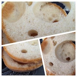 Pain sans gluten Marks and Spencer intérieur