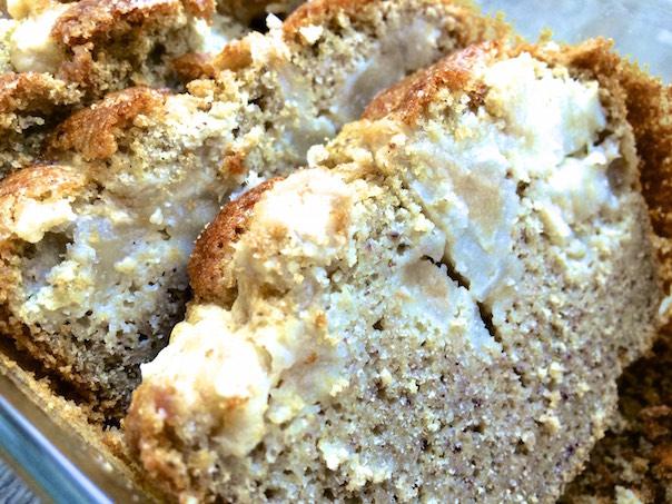 Cake poire pistache - texture