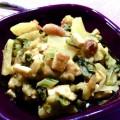 Potée végétarienne : chou et tofu