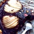 Tarte poire chocolat & tonka