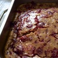 Clafoutis aux framboises sans gluten