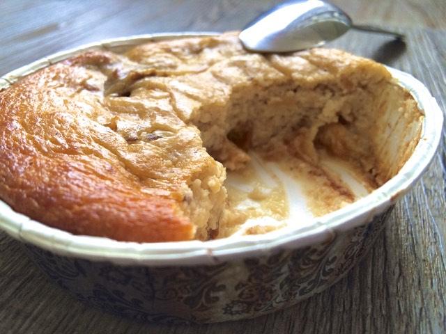 Flan ricotta mirabelles sans gluten (texture)